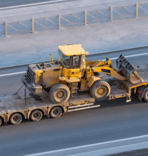Complex and Oversized Cargo Transportation - Heavy Machinery